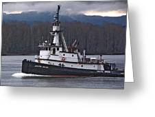 Joseph Sause Tug 2 Greeting Card