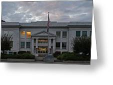 Josephine County Court House Greeting Card