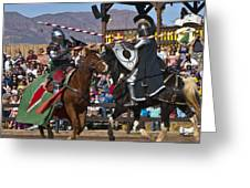 Joust To The End... Greeting Card
