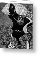 Judith  After Gustav Klimt Greeting Card