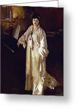 Judith Gautier Greeting Card by John Singer Sargent