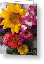 July Garden Detail Greeting Card