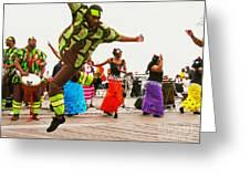 Jump Up Greeting Card