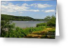 June Along The Connecticut River Greeting Card