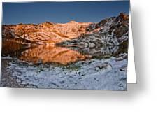 June Snowfall At Angel Lake Greeting Card