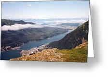 Juneau View Greeting Card