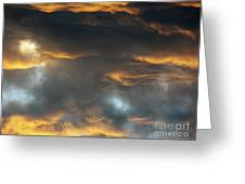 Just A Touch Of Heaven Greeting Card