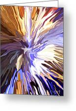 Just Abstract Iv Greeting Card
