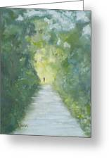 Just Another Road To Somewhere Greeting Card