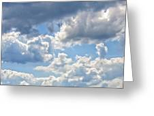 Just Clouds Greeting Card