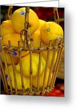 Just Lemons Greeting Card