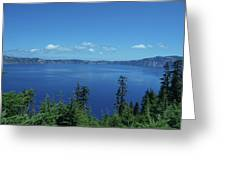 Just One Part Of Crater Lake Greeting Card