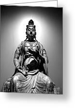 K-buddha Greeting Card