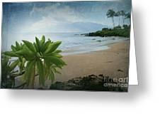 Ka Makani Olu Olu  -  Polo Beach Maui Hawaii Greeting Card