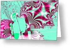 Kabuki . Square Greeting Card by Wingsdomain Art and Photography