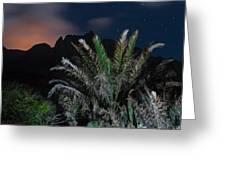 Kalalau Mountains At Night Greeting Card