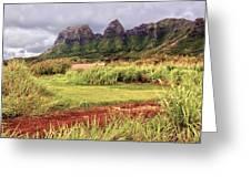 Kalalea Mountain Range Greeting Card