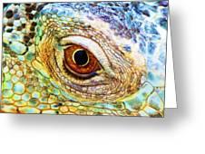 Kaleidescope Eye Greeting Card
