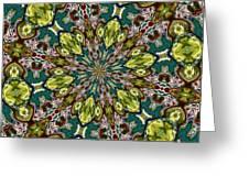 Kaleidocube 01 Greeting Card
