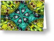 Kaleidocube 03 Greeting Card