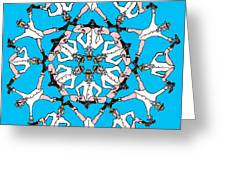 Kaleidoscoot Greeting Card