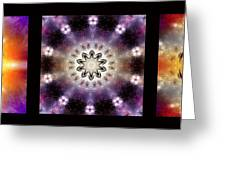 Kaleidoscope - Triptych Greeting Card