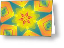 Kaleidoscope Series Number 8 Greeting Card