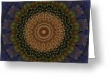 Kaleidoscope Vi Greeting Card