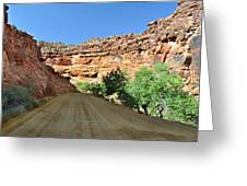 Kane Creek Road Greeting Card