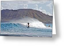 Kaneohe Bay Sufer Mcbh Greeting Card