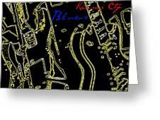 Kansas City Music  Greeting Card