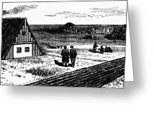 Kansas, Mennonites, C1874 Greeting Card