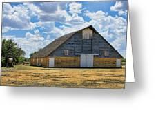 Kansas Stone Barn Greeting Card