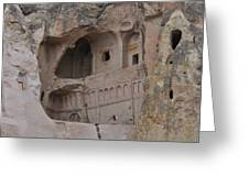 Kapadokya Caves Greeting Card