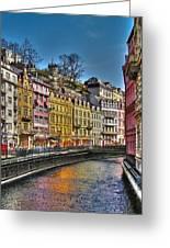 Karlovy Vary - Ceska Republika Greeting Card