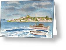 Kastelorizo Greeting Card by Kostas Koutsoukanidis