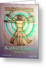 Kathie Fallon Greeting Card
