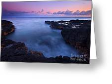 Kauai  Pastel Tides Greeting Card