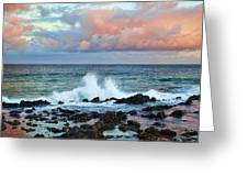 Kauai Sunset Greeting Card