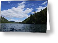 Kayaking A Jewel Greeting Card