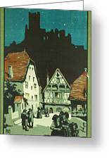 Kaysersberg Alsace Greeting Card by Georgia Fowler
