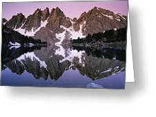Kearsarge Lake Reflects The Nearby Greeting Card