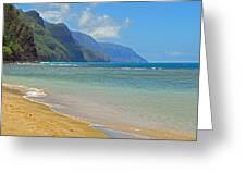 Ke'e Beach Greeting Card