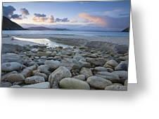 Keem Strand, Achill Island, Co Mayo Greeting Card