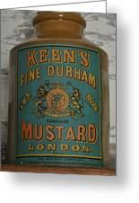 Keen's Mustard Greeting Card