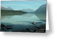 Kenai Lake Reflections Greeting Card