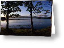Kenmare Bay, Ring Of Kerry In Bg, Co Greeting Card