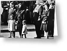Kennedy Funeral, 1963 Greeting Card