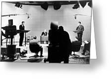Kennedy/nixon Debate, 1960 Greeting Card by Granger