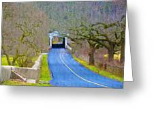 Kennedy's Bridge Over French Creek Greeting Card